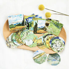 45 pcs/pack Meet Van Gogh Reproduce Classic Decorative Sticker DIY Diary Sticker