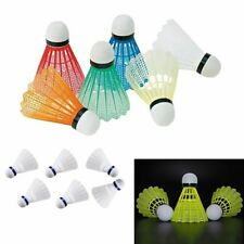 12pcs Colorful Shuttlecock Lightweight Training Badminton Balls Plastic Set