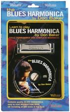 Waltons Learn To Play Blues Harmonica Book and CD (Standard)