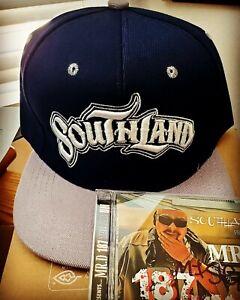 SOUTHLAND HAT includes a free AUTOGRAPHED Mister D 187um Album , Chicano RAP