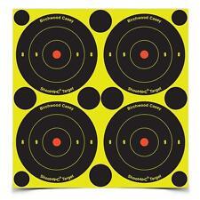 "Pkg of 12 Birchwood Casey (48) 3"" Bullseye Shoot-N-C Targets Spots Self Adhesive"