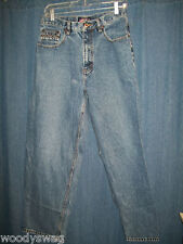 U. S. Polo Assn Jeans Size 32 by 30 100% Cotton Pre owned Hole fray Inseam 30