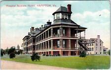 HAMPTON, Virginia  VA   HOSPITAL SOLDIERS HOME  ca 1910s    Postcard