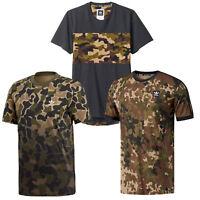 adidas Originals Camo Camouflage Tee Herren-Shirt T-Shirt Kurzarm Tarnmuster