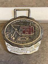 Strongsville Ohio watch fob 10th National Watch Fob Show