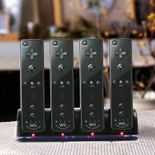4X Rechargeable Battery with Charger Station for Nintendo Wii Controller Remote