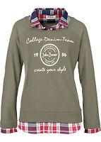 Damen Sweatshirt Pullover Sweater Pulli Shirt Freizeit Gr. 40 / 42