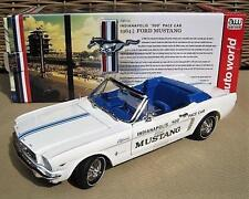 Ford Mustang  Indianapolis 500 Pace Car  1964 Auto World  Maßstab 1:18  OVP  NEU