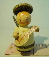 Angel Miniature Wood Decorative Printers Tray Tiny Vintage