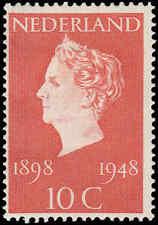 Scott # 302 - 1948 - ' Wilhelmina '