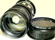 Spiratone 135mm f2.8 Manual Focus Lens Adapted to Canon EOS EF cameras T6i T7