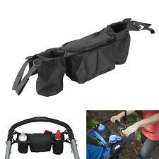 Baby Pram Practical Hanging Storage Bag Organizer Pushchair Stroller Cup Holder