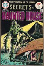 SECRETS OF HAUNTED HOUSE #1 DC COMICS 04/75 HORROR & BATMAN TWINKIES AD VF