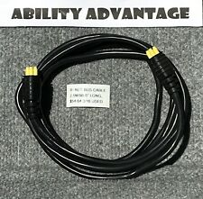 """Permobil RNET BUS CABLE, 2.5M, (98 1/2"""" long) MALE to MALE."""