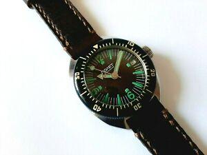 Vintage POLJOT AMPHIBIAN men's watch, Famous Russian DIVER, AUTOMATIC, All Steel