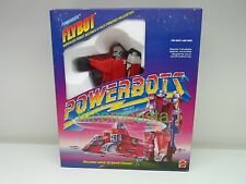 Mattel Powerbots Transformers 1986 Flybot Helicopter Action Figure Complete