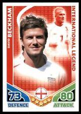 David Beckham Match Attax Game Trading Cards