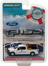 2016 FORD F-150 WITH LIFEGUARD ACCESSORIES HOBBY EXCLUSIVE 1/64 GREENLIGHT 29899