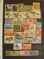 China, P.R. China, Manjukkia old stamp collection.