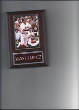 MANNY RAMIREZ PLAQUE BASEBALL BOSTON RED SOX MLB
