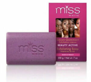 Fair and White Miss White Beauty Active Exfoliating Soap 200g
