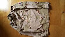 GENUINE DUTCH ARMY SHIRT DESERT TRI  COLOUR   CHEST 48 inch approx