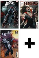 MORBIUS #1,2,3,4,5++ Kyle Hotz Variant, Incentive Comic Books ~ Marvel Comics