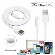 10Ft USB 2.0 Charger Charging Data Cable Cord For iPad 2 3 4 Mini Air iPhone