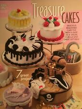 Crochet Book: TREASURE CAKES, 7 projects, removable top, storage bottom, Annie's