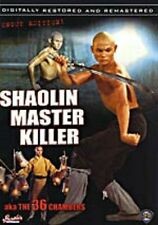 Shaolin Master Killer  - Hong Kong RARE Kung Fu Martial Arts Action movie - NEW
