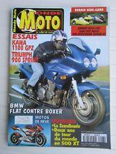 MONDE MOTO N°27 /KAWA 1100 GPZ/TRIUMPH 900 SPRINT/BMW FLAT-BOXER/SIDE-CARS