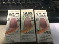 (3) Sally Hansen Salon Effects Real Nail Polish Strips #250 BLING IT ON