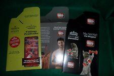 Makers Mark Holiday Novelty Gift Box Set of 3 Bourbon Whiskey MMTV New Unused