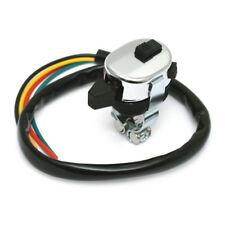 Custom Lenkerschalter Chrom mit Kabel, für Harley - Davidson