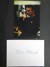 ELIAS McCONNELL original signiert – BRIEFKARTE und FOTO