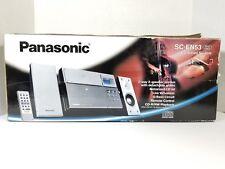 Panasonic Micro Bookshelf CD Stereo System CD-R/RW AM/FM Radio SC EN53