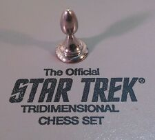 Star Trek Tridimensional Chess Sterling Silver PAWN Replacement Franklin Mint