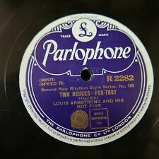 78rpm LOUIS ARMSTRONG two deuces / fireworks R 2282