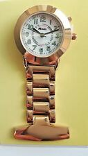 Ravel R1101elr Nurses Rosegold Fob Watch By Ravel El Backlight