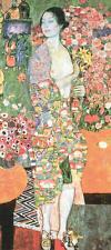 Gustav Klimt The Dancer Symbolist Portrait Woman Print Poster 13x19