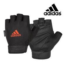 ADIDAS WOMEN'S ESSENTIAL ADJUSTABLE Half-Finger Fitness Gloves ADGB-12416 Sz XL