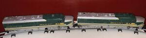 Vintage American Flyer S Gauge 474&475 Rocket Diesel Locomotive Set