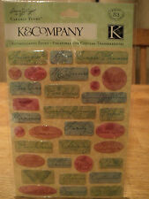 K&CO SUSAN WINGET NATURE WORDS CLEARLY YOURS BNIP