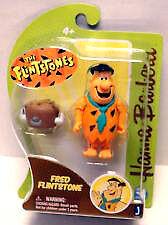 Hanna Barbera Flintstones 3 Inch Action Figure - Fred Flintstone Jazwares 2012