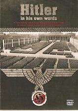 HITLER IN HIS OWN WORDS - 2 DVD BOX SET - A FASCINATING, YET SINISTER INSIGHT