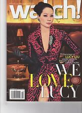 WATCH Magazine - OCT 2013 - CBS - LUCY LIU Cover - Elementary - Style Issue
