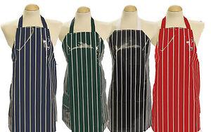 5 - 8 yrs Childs apron / Kids PVC apron ** Butchers Stripe ** Made in UK