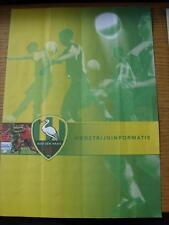 23/04/2005 Ado Den Haag v Roda JC  (folded).