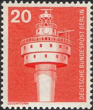 Germany (B) 1975 Industry/Technology/Lighthouse/Nautical/Buildings 1v (n25430)