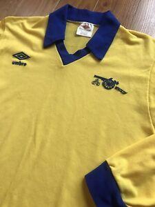 Vintage Umbro 1978/81 Arsenal FC Away Long Sleeve Jersey Shirt Soccer Football